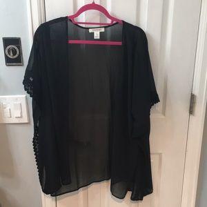 Wonderful black shawl